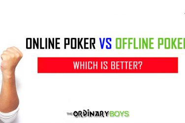 Better to Play Poker Tournaments Online Than Offline