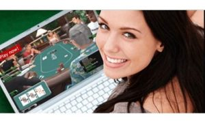 What are the advantages playing online poker